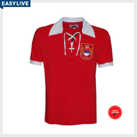Liga Retrô | Camisa Sérvia