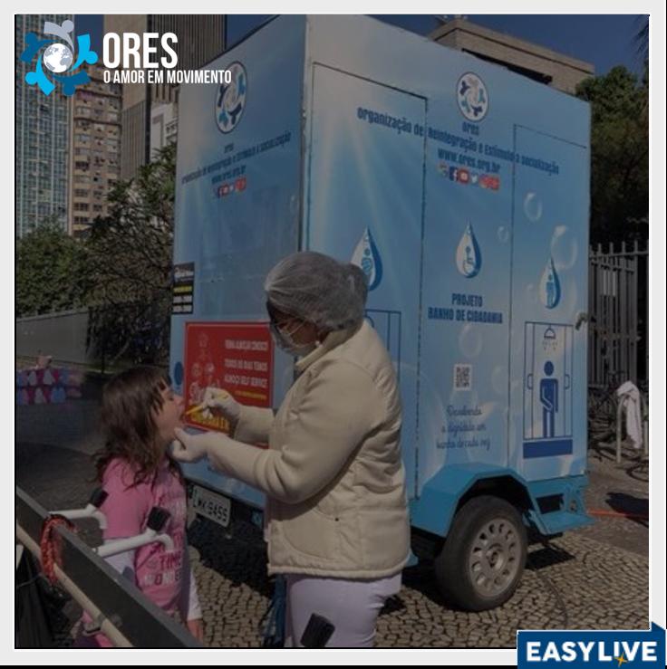 VAKINHA | Projeto Banho de Cidadania (ORES-RJ)