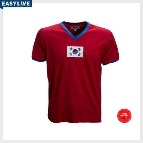 Liga Retrô | Camisa Coréia do Sul 1970