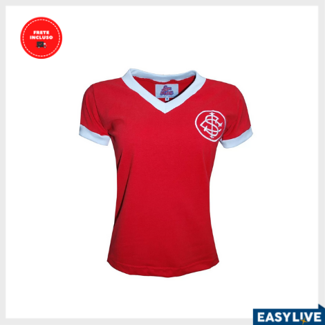 Liga Retrô | Camisa Feminina Internacional 1976
