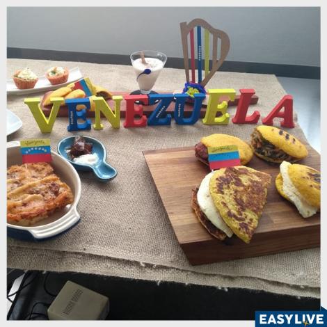 """Aprenda a fazer a """"Cachapa"""" venezuelana com imigrante"""
