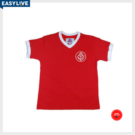 Liga Retrô - Camisa Infantil Internacional 1976
