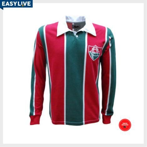 Liga Retrô | Camisa Fluminense 1913 Longa