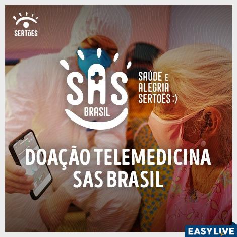 Doação Telemedicina | SAS - Saúde e alegria no Sertões