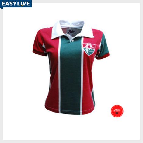 Liga Retrô | Camisa Feminina Fluminense 1913