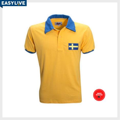 Liga Retrô | Camisa Suécia 1958