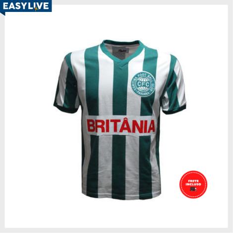 Liga Retrô | Camisa Coritiba 1985