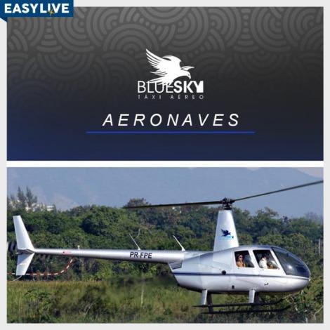 BlueSky | Passeio de Helicóptero no Rio de Janeiro