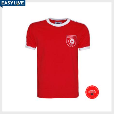 Liga Retrô | Camisa Tunisia 1978