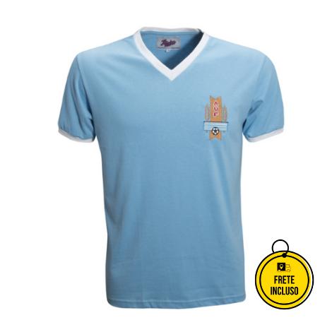 Liga Retrô | Camisa Uruguai 1950