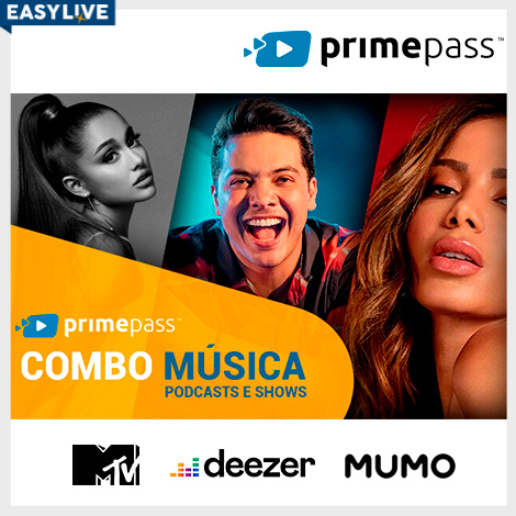 Primepass - Música, Podcasts e Shows