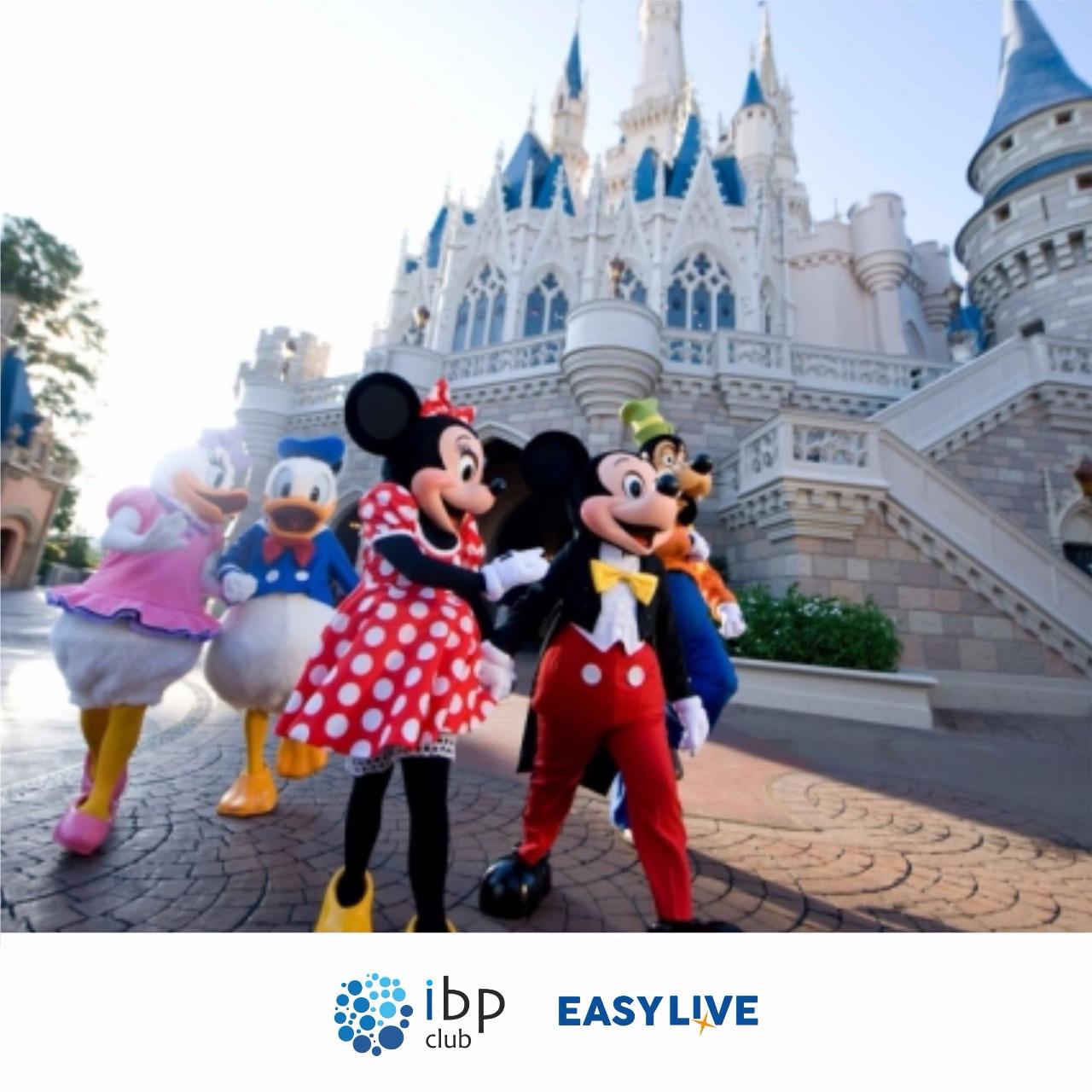 Parques Disney - 2 a 4 dias