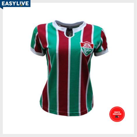 Liga Retrô | Camisa Feminina Fluminense 1976