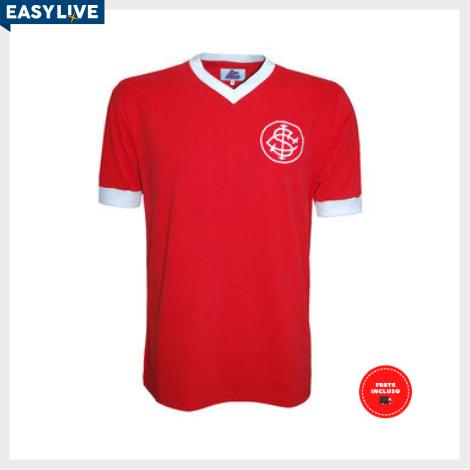Liga Retrô - Camisa Internacional 1976 Vermelha