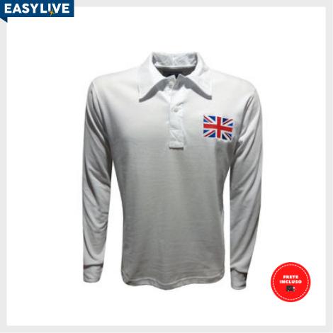 Liga Retrô | Camisa Reino Unido 1908