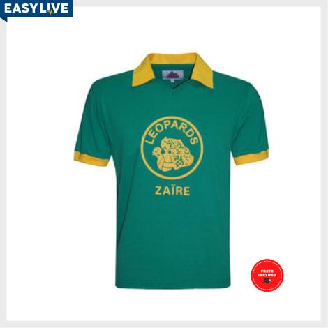 Liga Retrô | Camisa Zaire 1974