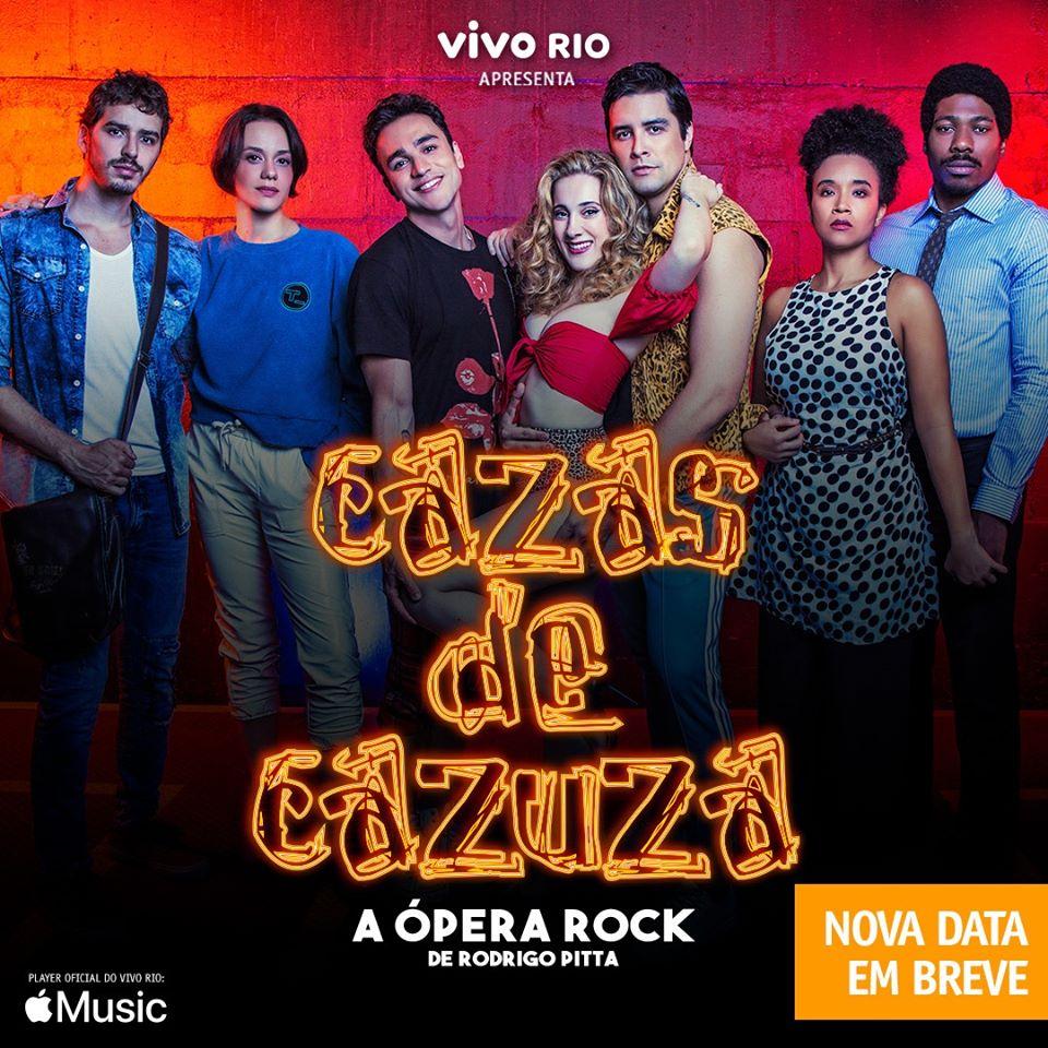 """Cazas de Cazuza """"A Ópera Rock de Rodrigo Pitta"""""""