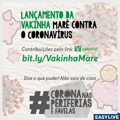 VAKINHA | Complexo da Maré contra o Coronavírus
