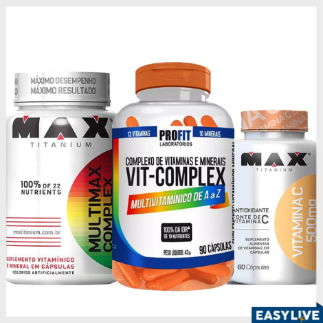 OMNIA VITA - Vitaminas e suplementos alimentares