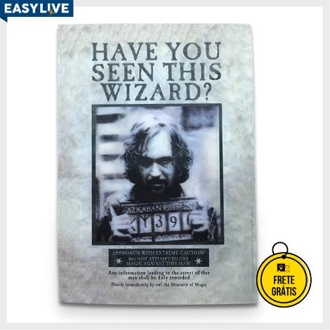 Coleção Harry Potter | Postal Holográfico Sirius Black