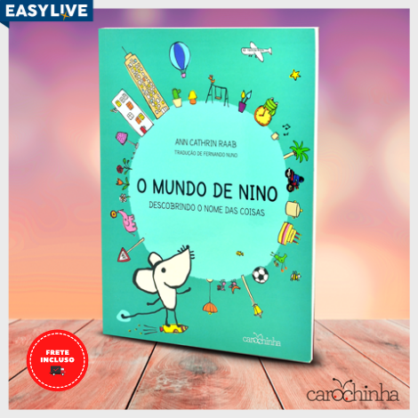 Livro O Mundo de Nino - Nova Edição