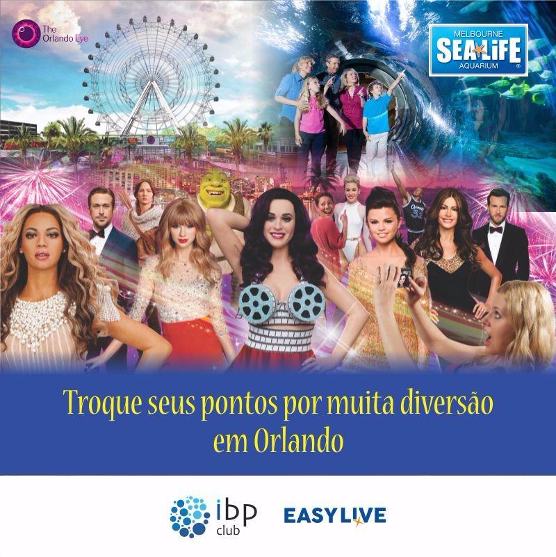 Atrações: Madame Tussauds+Orlando Eye+Sea Life