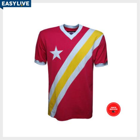 Liga Retrô | Camisa Congo 1968