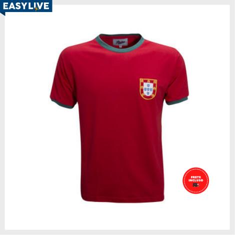 Liga Retrô | Camisa Portugal 1960