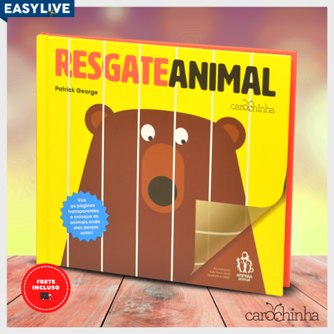 Livro Resgate Animal