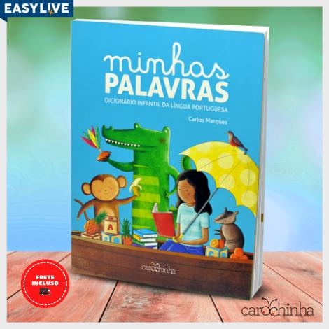 Livro Minhas Palavras: Dicionário Infantil da Língua Portuguesa