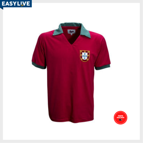 Liga Retrô | Camisa Portugal 1972