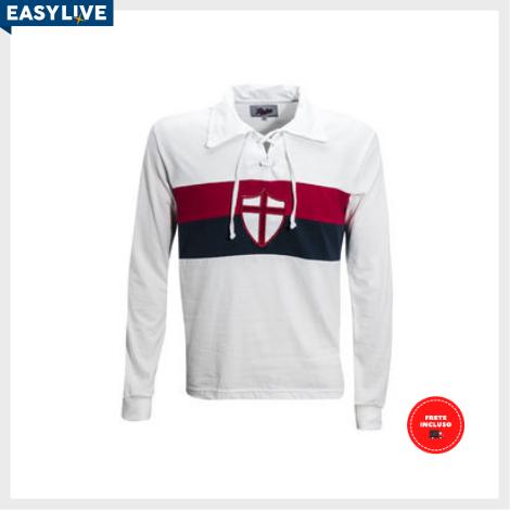Liga Retrô | Camisa Genoa 1915