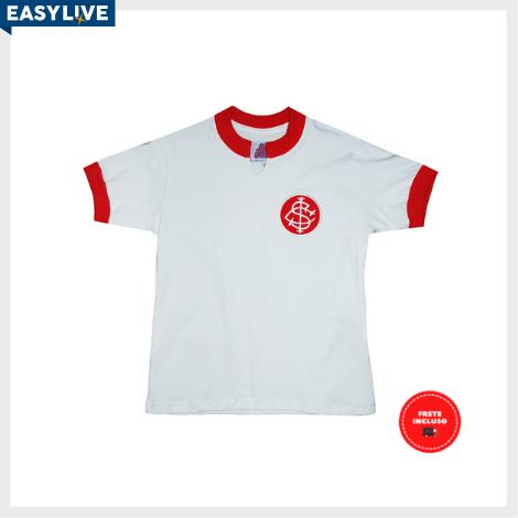 Liga Retrô | Camisa Infantil Internacional Branca 1976