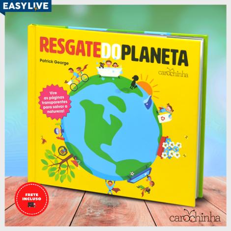 Livro Resgate do planeta