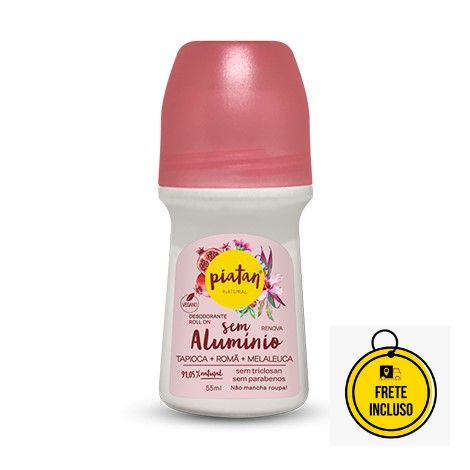 Piatan Natural | Desodorante Sem Alumínio Renova