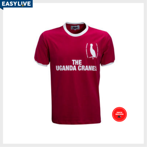 Liga Retrô | Camisa Uganda 1980