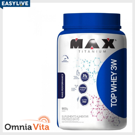 Top Whey 3W + Performance 900g - Max Titanium