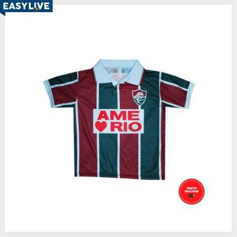 Liga Retrô | Camisa Infantil Fluminense 1995