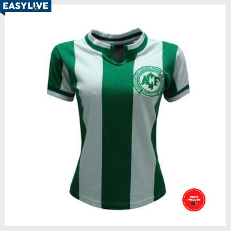 Liga Retrô | Camisa Feminina Chapecoense 1979