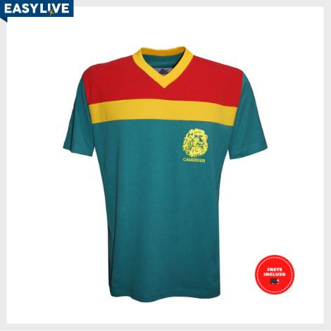 Liga Retrô | Camisa Camarões 1989