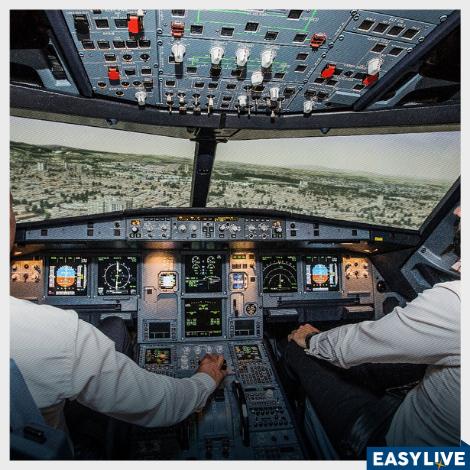Sinta a experiência de ser piloto de avião por 1 dia!