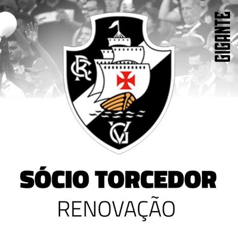 Renovação Sócio Torcedor | Club de Regatas Vasco da Gama