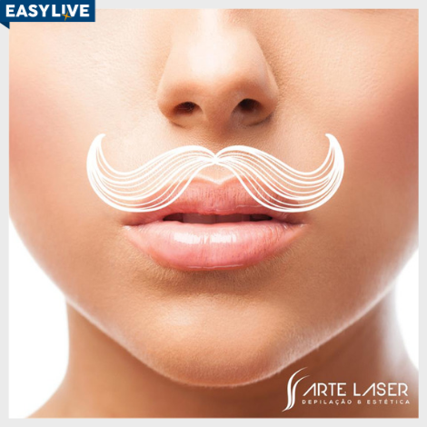 Arte Laser | Depilação feminina - Buço