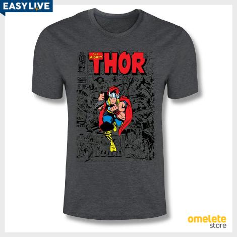 Coleção MARVEL | Camiseta Thor Comics (Masculina)