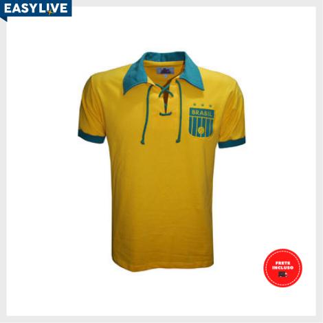 Liga Retrô | Camisa Brasil Modelo 4