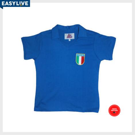 Liga Retrô | Camisa Infantil Itália 1982