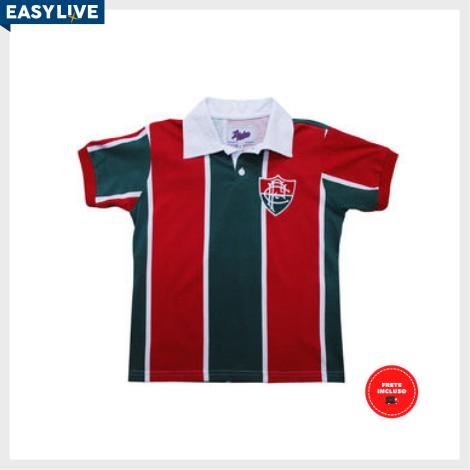 Liga Retrô | Camisa Infantil Fluminense 1913
