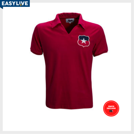 Liga Retrô | Camisa Chile 1966