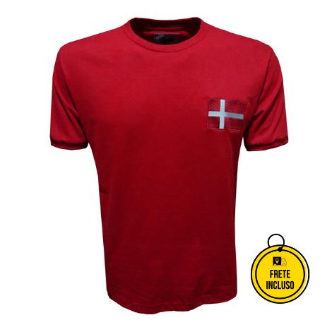 Liga Retrô | Camisa Dinamarca 1970