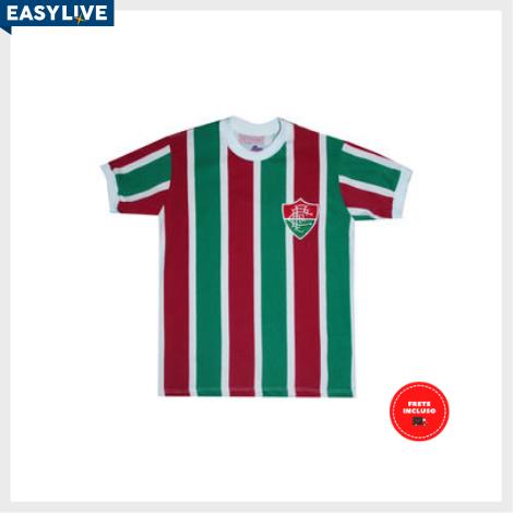 Liga Retrô | Camisa Infantil Fluminense 80´s